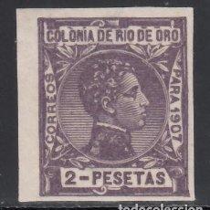 Sellos: RÍO DE ORO. 1908 EDIFIL Nº 29 /**/, SIN DENTAR. . Lote 168226576