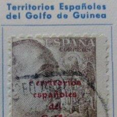 Sellos: 1943 SELLO DE ESPAÑA Nº 932 HABILITADO TERRITORIOS ESPAÑOLES DEL GOLFO DE GUINEA Nº 271. Lote 169345464