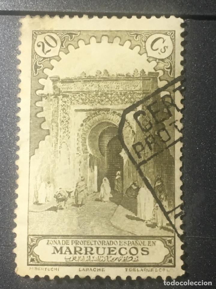 MARRUECOS ZONA PROTECTORADO ESPAÑOL 20 CSLARACHE (Sellos - España - Colonias Españolas y Dependencias - África - Marruecos)