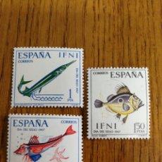 Sellos: ESPAÑA COLONIAS :230/32 MNH. IFNI. Lote 169660264
