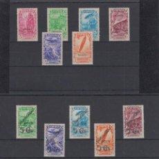 Sellos: GUINEA. BENEFICENCIA. EDIFIL 1/17 *,**, (*). Lote 170968978