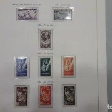 Sellos: GUINEA. COLECCIÓN DE SELLOS DESDE 1949 HASTA 1959.. Lote 171010559