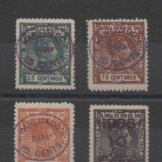Sellos: RIO DE ORO_EDIFIL Nº 37/40*_CON FIJASELLOS__CATALOGO: 195 EUROS_VER FOTOS. Lote 171511933