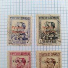 Sellos: REPÚBLICA ESPAÑOLA GOLFO DE GUINEA. Lote 175265480