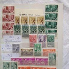 Sellos: LOTE 65 SELLOS FERNANDO POO (64 NUEVOS). Lote 175587089