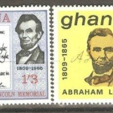 Sellos: GHANA,4 VALORES, NUEVOS,G.ORIGINAL,SIN FIJASELLOS,1965,CAT. YT 197/200. Lote 176391860