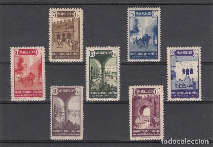 MARRUECOS NUMS 234 A 240 NUEVOS CON FIJASELLOS (Sellos - España - Colonias Españolas y Dependencias - África - Marruecos)
