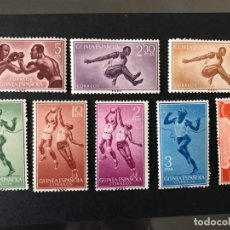 Sellos: GUINEA 1958 EDIFIL 376/83* MLH. Lote 176862453