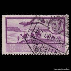 Sellos: SELLOS AFRICA OCCIDENTAL. 1950.PAISAJES EFIGIE.3,25P VIOLETA.USADO.EDIFIL.24. Lote 176908122