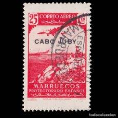 Selos: SELLOS. ESPAÑA.CABO JUBY 1938.SELLO MARRUECOS. HABILITADO.25C.USADO.EDIFIL.104. Lote 177390755