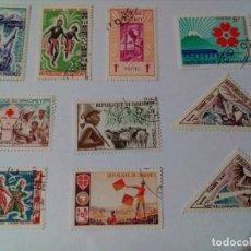 Sellos: SELLOS DE LA REPUBLICA DAHOMEY. Lote 177431600