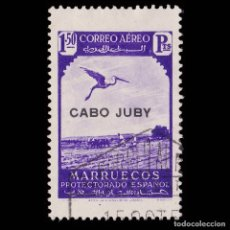 Selos: SELLOS. ESPAÑA.CABO JUBY 1938.SELLOS MARRUECOS.HABILITADOS.1,50 VIOLETA.USADO.EDIF.109. Lote 177504742