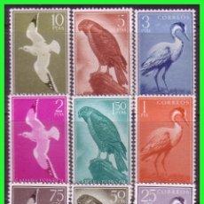 Sellos: SAHARA 1959 SERIE BÁSICA, EDIFIL Nº 160 A 168 * *. Lote 177574649