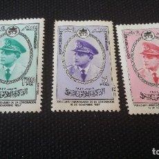 Sellos: EAPAÑA,1957,REINO INDEPENDIENTE,ZONA NORTE MARRUECOS, XXXANIVERSARIO CORONACION MOHAMEDV,EDIF 27/29. Lote 177948023
