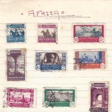 Sellos: ÁFRICA. LOTE DE 25 SELLOS DE COLONIAS ESPAÑOLAS Y DEPENDENCIAS.. Lote 177963948
