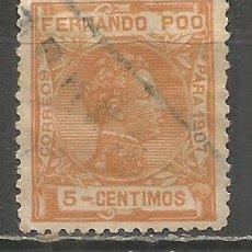Sellos: FERNANDO POO EDIFIL NUM. 156 USADO. Lote 178332908