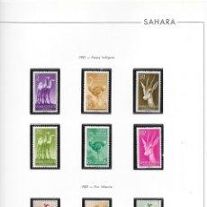 Sellos: SAHARA. EX-COLONIA ESPAÑOLA.. Lote 178967487