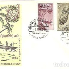 Sellos: FDC FERNANDO POO 1964. Lote 179123837
