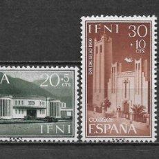 Sellos: ESPAÑA IFNI 1960 EDIFIL 172/175 ** - 2/46. Lote 180182287
