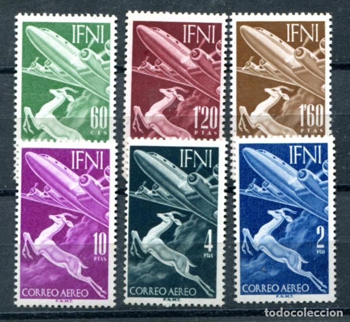 EDIFIL 89/94 DE IFNI, NUEVOS SIN FIJASELLOS. (Sellos - España - Colonias Españolas y Dependencias - África - Ifni)