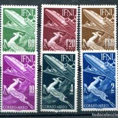 Sellos: EDIFIL 89/94 DE IFNI, NUEVOS SIN FIJASELLOS.. Lote 180190937