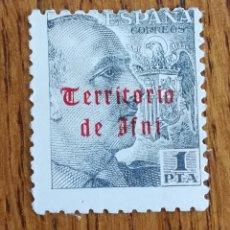 Sellos: IFNI, N°51 MH. GRAL. FRANCO (FOTOGRAFÍA REAL). Lote 180929331
