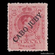 Sellos: SELLOS.CABO JUBY. 1919.SELLOS DE ESPAÑA.1876-1902-22. 10C. ROJO. NUEVO** EDIFIL 8.. Lote 180942072