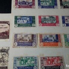 Sellos: 34 MARRUECOS- CABOJUBY NUEVOS Y USADOS. Lote 181086026