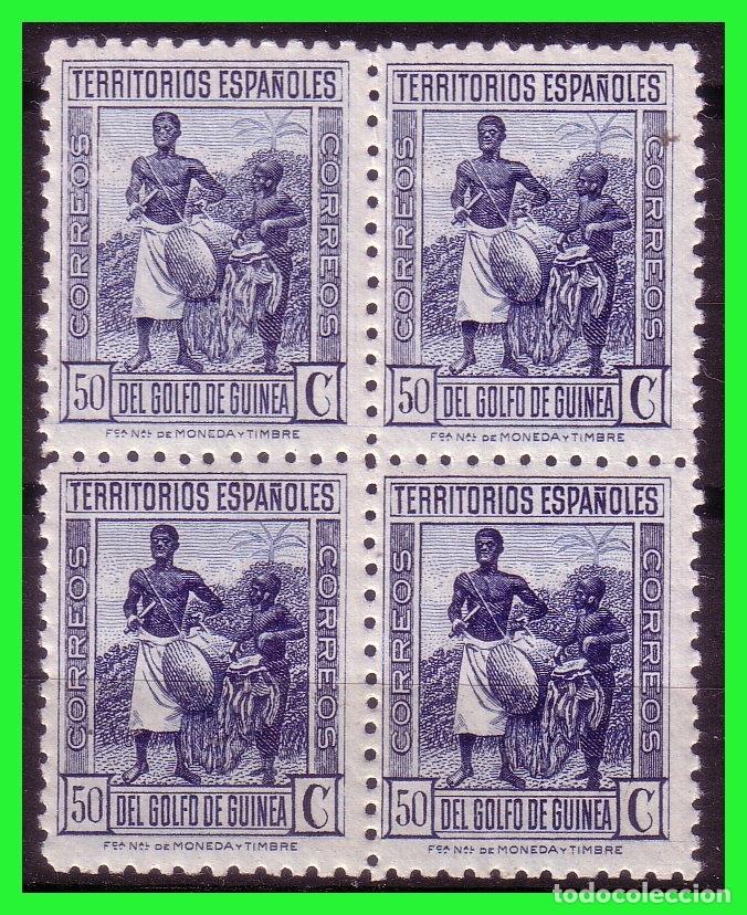 GUINEA 1934 TIPOS INDÍGENAS, EDIFIL Nº 250 B4 * * (Sellos - España - Colonias Españolas y Dependencias - África - Guinea)