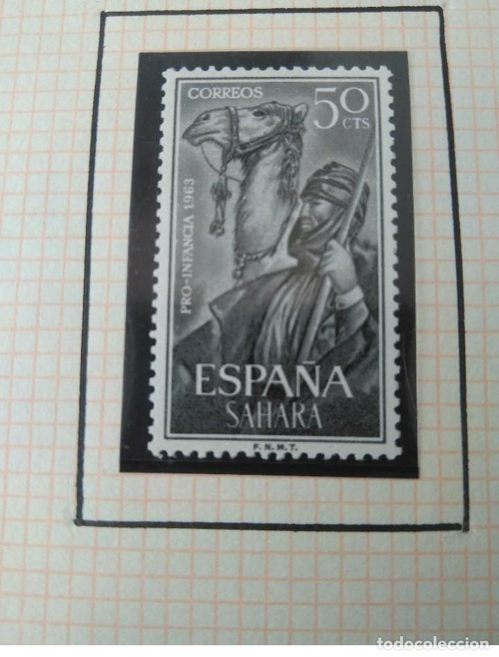 Sellos: SELLOS SAHARA ESPAÑOL PRO INFANCIA 1963 F.N.M.T - Foto 4 - 181415306
