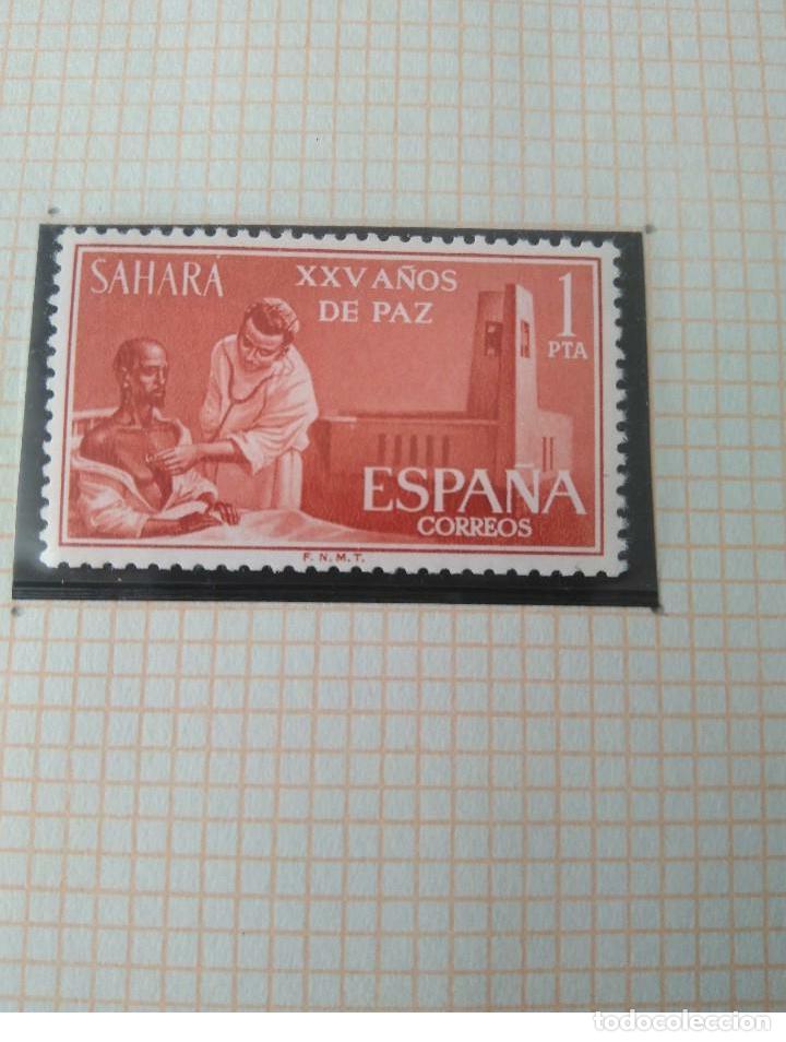 Sellos: SELLOS SAHARA -XXV AÑOS DE PAZ F.N.M.T - Foto 4 - 181416241