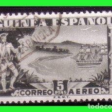 Sellos: GUINEA 1949 DIA DEL SELLO COLONIAL, EDIFIL Nº 276 (O). Lote 181477667