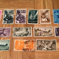 Sellos: GUINEA ESPAÑOLA 19 SELLOS. Lote 181529351