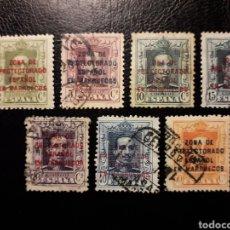 Sellos: MARRUECOS ESPAÑOL. EDIFIL 81/5, 87 Y 88 SELLOS SUELTOS MAYORIA USADOS. SOBRECARGADOS.. Lote 181613832