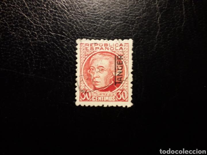 TÁNGER. EDIFIL 92. SELLO SUELTO USADO. SOBRECARGADO. (Sellos - España - Colonias Españolas y Dependencias - África - Tanger)