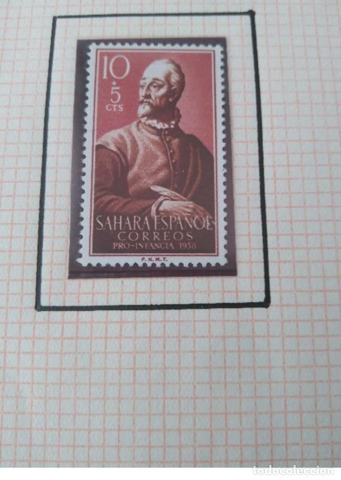 Sellos: SELLOS SAHARA ESPAÑOL CORREOS PRO INFANCIA 1958 F.N.M.T - Foto 2 - 181733357