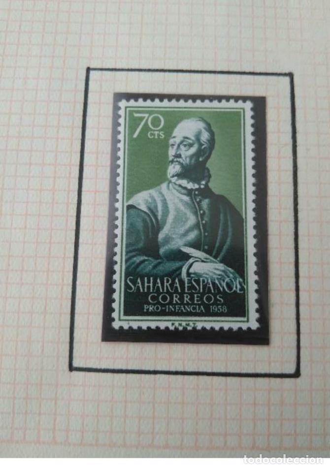 Sellos: SELLOS SAHARA ESPAÑOL PRO INFANCIA 1958 F.N.M.T - Foto 4 - 181733868