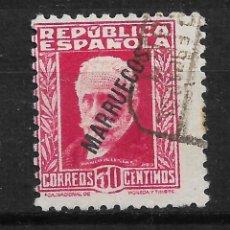 Sellos: ESPAÑA MARRUECOS TANGER 1933 EDIFIL 77 - 14/12. Lote 182001646