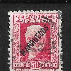 Sellos: ESPAÑA MARRUECOS TANGER 1933 EDIFIL 77 - 14/12. Lote 182001660