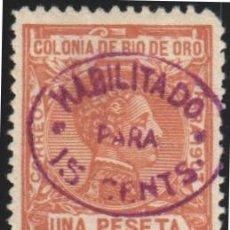 Sellos: RIO DE ORO, 1908 EDIFIL Nº 40 /*/ . Lote 182037626