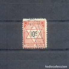 Sellos: TANGER. 1936. OCUPACION FRANCESA. TIMBRE FISCAL DE 10 C.. Lote 182087710