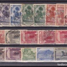 Sellos: DD33- MARRUECOS PAISAJES Y MONUMENTOS 1928 X 18 SELLOS. Lote 182561697