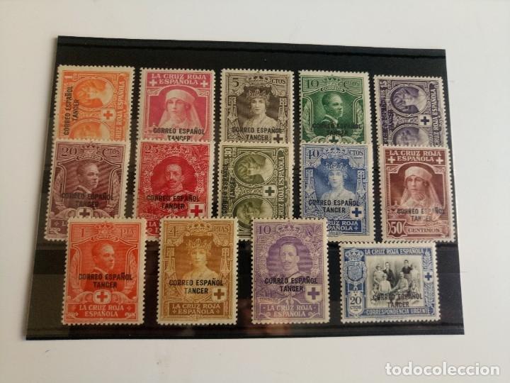 PRO CRUZ ROJA AÑO 1926 EDIFIL 23/36 EN NUEVO** (Sellos - España - Colonias Españolas y Dependencias - África - Tanger)
