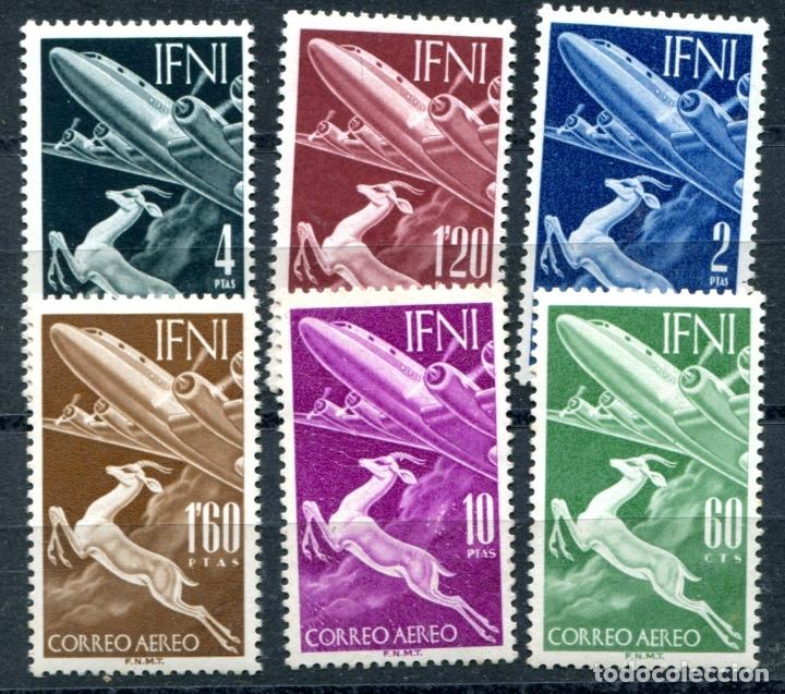 EDIFIL 89/94 DE IFNI. TEMA AVIACIÓN. NUEVOS SIN FIJASELLOS. VER DESCRIPCIÓN. (Sellos - España - Colonias Españolas y Dependencias - África - Ifni)