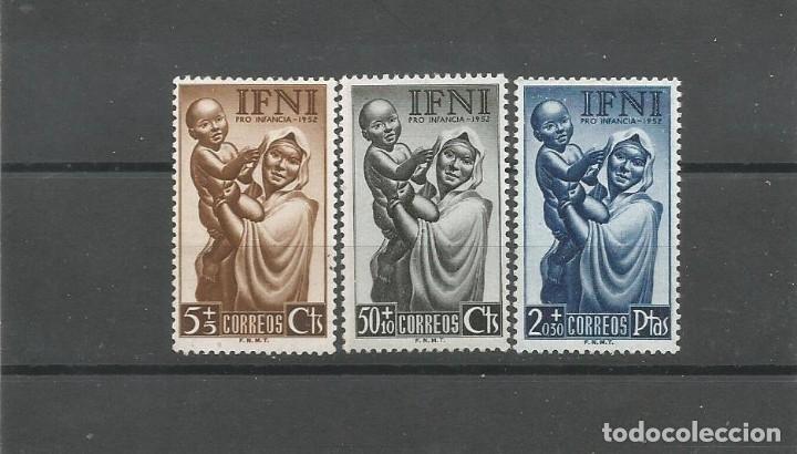 IFNI 1952 - EDIFIL NRO. 79-81 - NUEVOS - PUNTOS DE OXIDO (Sellos - España - Colonias Españolas y Dependencias - África - Ifni)