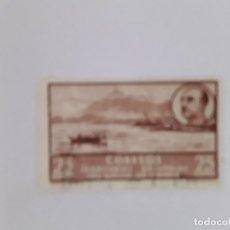 Sellos: GOLFO DE GUINEA SELLO USADO SEÑAL CHARNELA. Lote 183250255