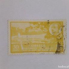 Sellos: GOLFO DE GUINEA SELLO USADO SEÑAL CHARNELA. Lote 183250271