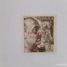 Sellos: GOLFA DE GUINEA SELLO USADO SEÑAL CHARNELA. Lote 183251011