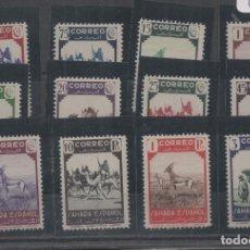 Sellos: SAHARA ESPAÑOL=EDIFIL Nº 63/74_NUEVOS SIN FIJASELLOS_CATALOGO:110 EUROS_VER FOTO. Lote 183403151