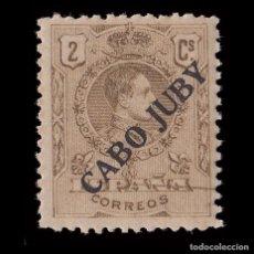 Selos: CABO JUBY. 1919.SELLOS DE ESPAÑA.1876-1902-22. 2C.NUEVO** EDIFIL 6.. Lote 183412150